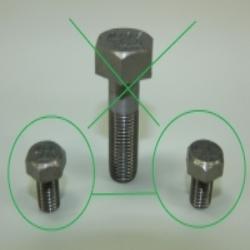 Befestigungsschrauben M7 x 10 DIN 933 für DKW NZ250, NZ350, NZ500