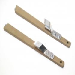 2x Stütze (Strebe) für Gepäcktaschenhalter für Zündapp KS 600, 500, 800 WH