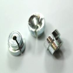 Abstützplatte für Bowdenspirale für ZÜNDAPP DB, NSU Kupplungshebel / Bremshebel verzinkt
