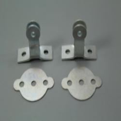 Halterungsset (4-teilig) für vorderes Nummernschild für Zündapp, NSU Motorräder