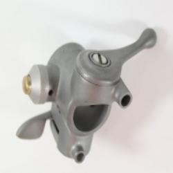 Zündungsverstellhebel u. Hupenknopf u. Lichtumschalter (aus Zamak) für ZÜNDAPP KS600 24mm