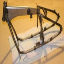 Rahmenteile (8 Teile) für BMW R75 Motorrad