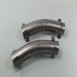 1 Paar ( 2 Stück) Wärmeschutzblech für NSU 500, 501 OSL