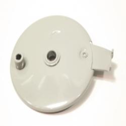 Bremsankerplatte für Hinterradnabe für DKW 350-1, IZ49 Gegenhalteplatte, neu, Replik