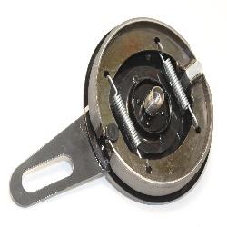 Bremsankerplatte für Hinterradnabe mit Bremsbackensatz DKW-Rad SB 500 ccm (nur bis 1936 Baujahr!) Gegenhalteplatte,Replik