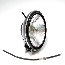 Scheinwerfer Lampe passend für BOSCH TE xxx für BMW, NSU, Drad, DKW, Ardie Nachbau Neu VER.2