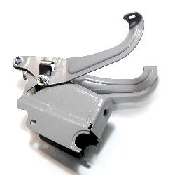 Sattelblock mit Schwingbügel Satz zum PAGUSA Fahrersitz DKW 350NZ, 350/1, IZ49, IZ350 neu, Replik