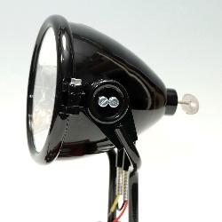 Scheinwerfer Spitzscheinwerfer Bosch J130 IMPERIA, NSU, BMW, DKW, D-Rad, REPLIK