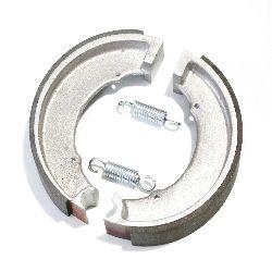 Bremsbacken Satz mit Zugfeder (vorne / hintere) passend für NSU 351 OSL, neu