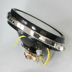 Trommel Scheinwerfer Lampe (Vorderteil) BOSCH TS150 BMW R52, NSU, Drad Ardie