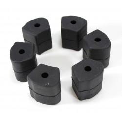 Gummi für Hinterradnabe NSU 601 OSL (6 Stück Satz)