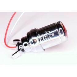 Rücklicht - Bremslicht Zigarrenrücklicht verchromt BOSCH JN5 S18 für NSU, BMW, Zündapp, Ardie, DKW Motorräder
