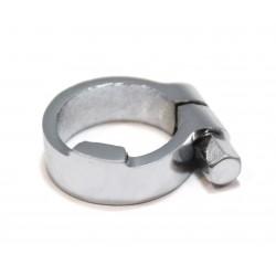 1 Stck. Klemmring RECHTS für Innenzughebel (Kupplungshebel) NSU 350, 500 OSL - Lenkerrohr 25mm, neu, verchromt